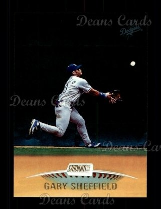 1999 Topps Stadium Club #215  Gary Sheffield