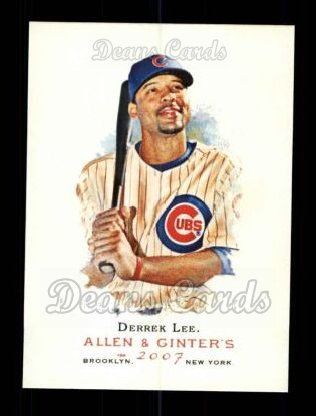 2007 Topps Allen & Ginter #166  Derrek Lee