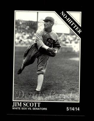 1992 Conlon #341   -  Jim Scott No-Hitter