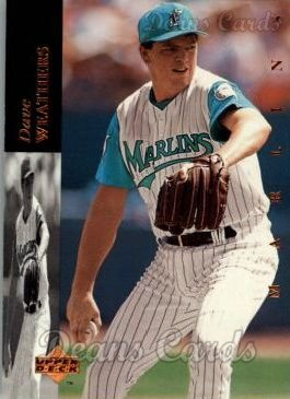 1994 Upper Deck #447  Dave Weathers