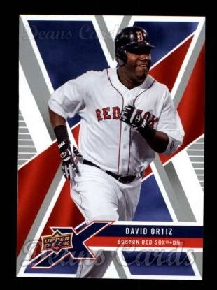 2008 Upper Deck X #12  David Ortiz
