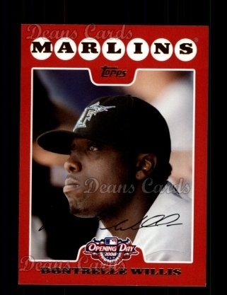 2008 Topps Opening Day #164  Dontrelle Willis