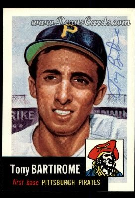 1991 Topps 1953 Archives #71  Tony Bartirome