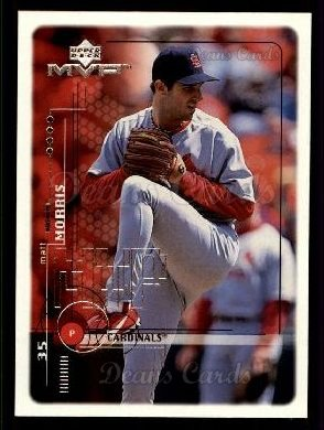 1999 Upper Deck MVP #173  Matt Morris