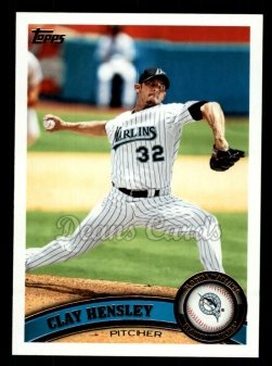 2011 Topps #167  Clay Hensley