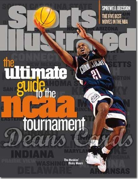 1998 Sports Illustrated - With Label   March 16  -  Robert Traylor Michigan Wolverines (Regional)