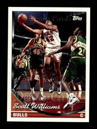 1993 Topps #348  Scott Williams