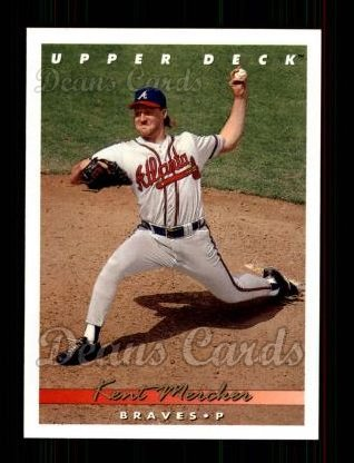 1993 Upper Deck #393  Kent Mercker