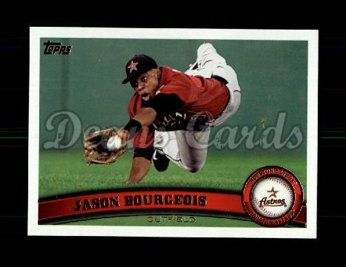 2011 Topps Update #178  Jason Bourgeois