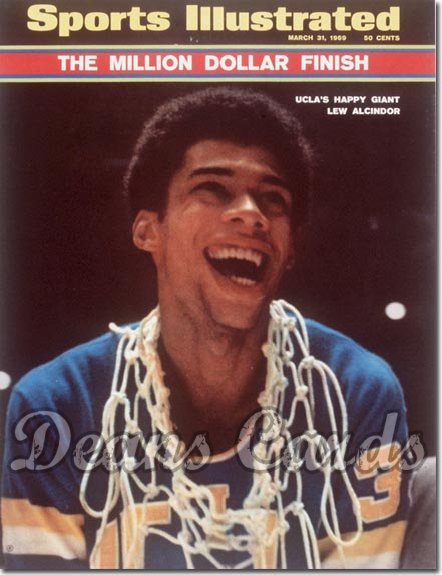 1969 Sports Illustrated - With Label   March 31  -  Lew Alcindor (UCLA Bruins)
