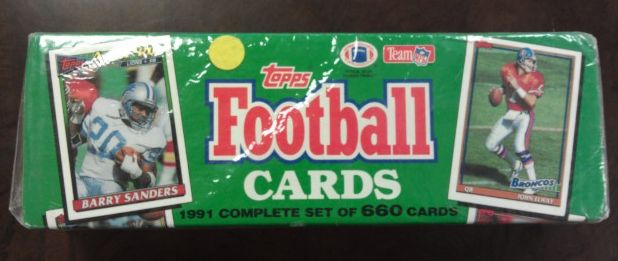 1991 Topps     Football Factory Sealed Complete Set