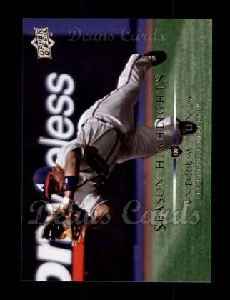 2008 Upper Deck #731   -  Andruw Jones Season Highlights