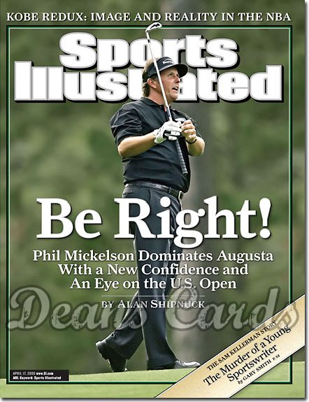 2006 Sports Illustrated   April 17  -  Phil Mickelson Golf no. 1