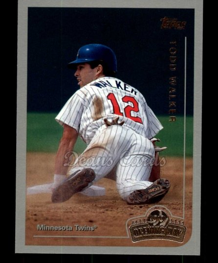1999 Topps Opening Day #19  Todd Walker