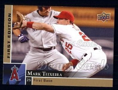 2009 Upper Deck First Edition #136  Mark Teixeira