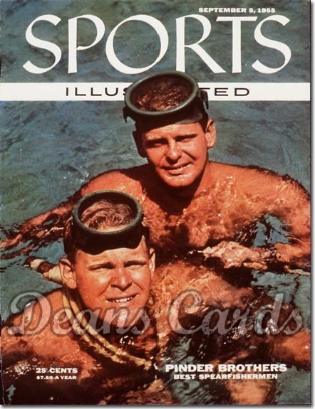 1955 Sports Illustrated - With Label   September 5  -  Fishing