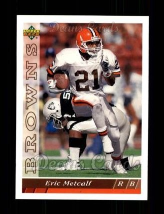 1993 Upper Deck #393  Eric Metcalf