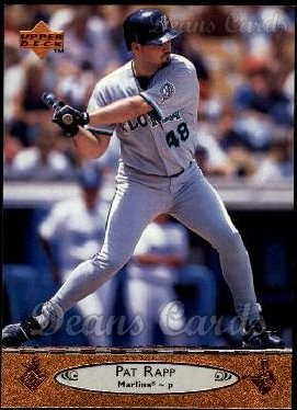 1996 Upper Deck #338  Pat Rapp