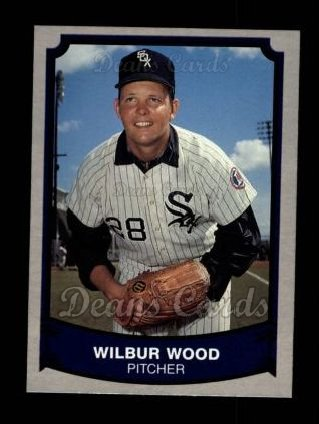 1989 Pacific Legends #124  Wilbur Wood