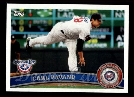 2011 Topps Opening Day #88  Carl Pavano