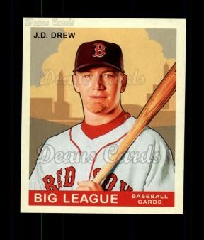 2007 Upper Deck Goudey Green Backs #47  J.D. Drew