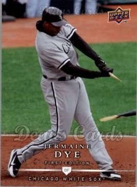 2008 Upper Deck First Edition #241  Jermaine Dye