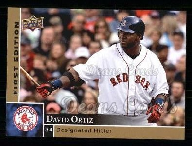 2009 Upper Deck First Edition #34  David Ortiz