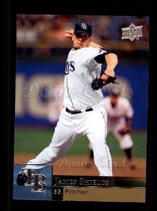 2009 Upper Deck #361  James Shields