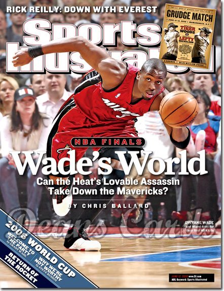 2006 Sports Illustrated   June 12  -  Dwyane Wade Miami Heat