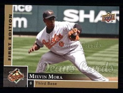 2009 Upper Deck First Edition #33  Melvin Mora