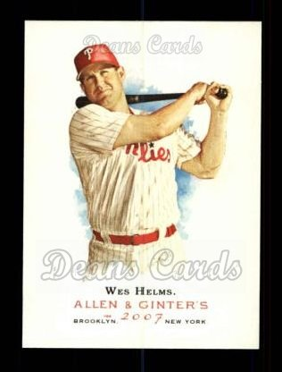2007 Topps Allen & Ginter #271  Wes Helms