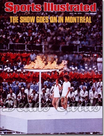 1976 Sports Illustrated - No Label   July 26  -  Olympic Torch