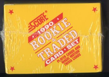 1990 Score     Baseball Rookie/Traded Factory Sealed Complete Set