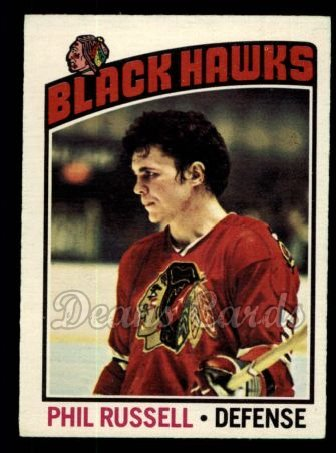 1976 O-Pee-Chee NHL #31  Phil Russell