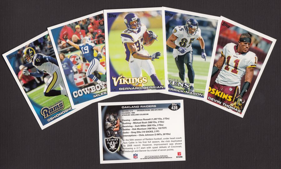 2010 Topps     Football Complete Set