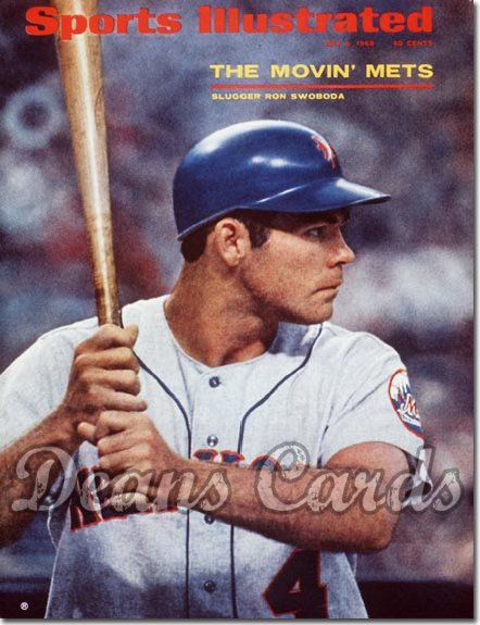 1968 Sports Illustrated   May 6  -  Ron Swoboda (New York)