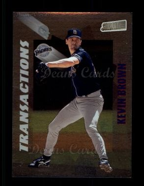 1998 Topps Stadium Club #356  Kevin Brown