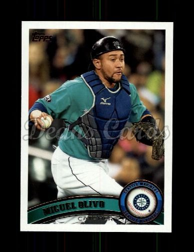 2011 Topps Update #67  Miguel Olivo