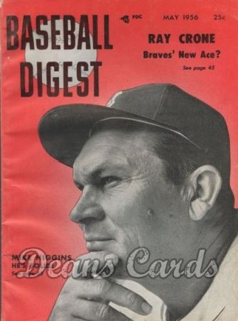 1956 Baseball Digest   -  Mike Higgins  May