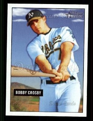 2005 Bowman Heritage #82  Bobby Crosby