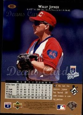 1996 Upper Deck #88  Wally Joyner