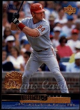 2000 Upper Deck #194  Mike Lieberthal