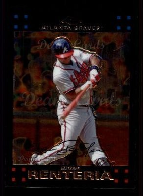 2007 Topps Chrome #3  Edgar Renteria