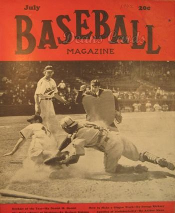 1942 Baseball Magazine    July