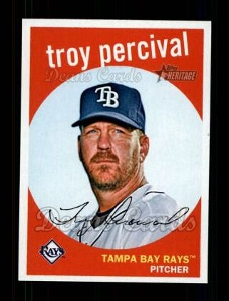 2008 Topps Heritage #609  Troy Percival