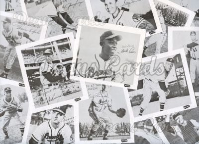 1957 Spic & Span Reprint    Milwaukee Braves  Complete Set