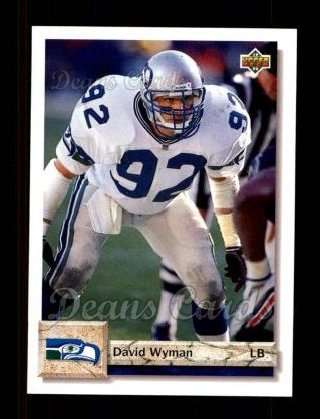 1992 Upper Deck #445  David Wyman