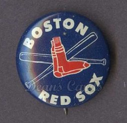 1969 Cranes Potato Chip Pin #2   Boston Red Sox