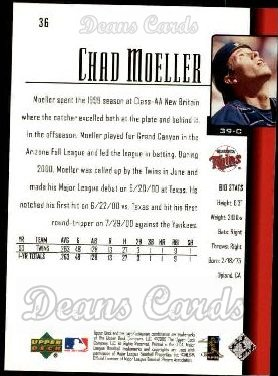 2001 Upper Deck #36  Chad Moeller