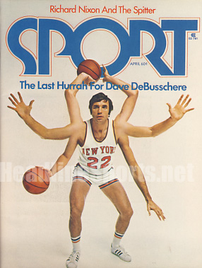 1974 Sport Magazine   -  Dave De Busschere  April